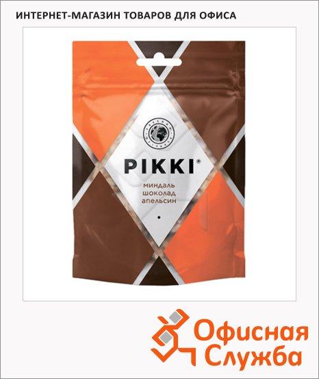 Кранчи Pikki миндаль с шоколадом и апельсином, 50г