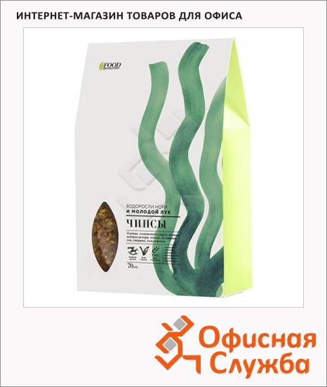 Чипсы Food Revolution водоросли нори и молодой лук, 70г