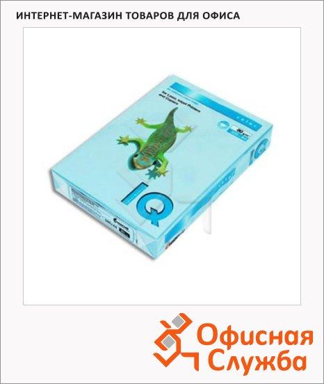 Цветная бумага для принтера Iq Color голубой лед, А4, OBL70, 500 листов, 80г/м2