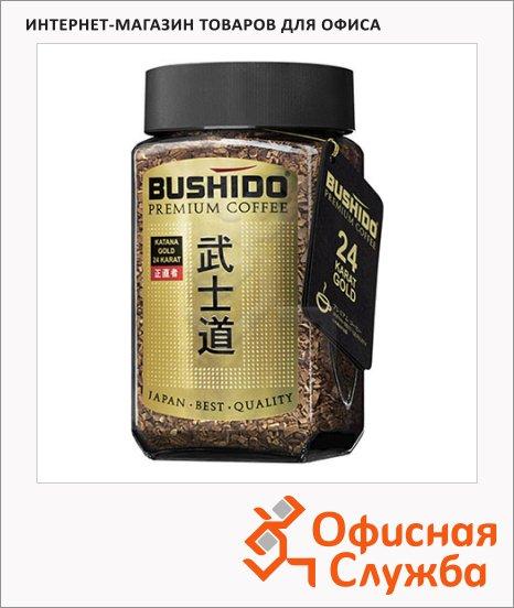 Кофе растворимый Bushido Katana Gold 24 Karat 100г, стекло