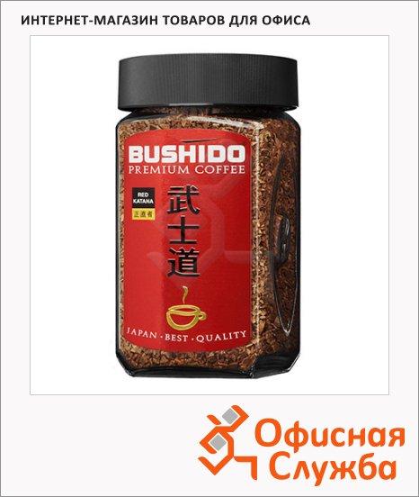 Кофе растворимый Bushido Red Katana 200г, стекло