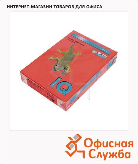Цветная бумага для принтера Iq Color кирпично-красная, А4, 500 листов, 80г/м2, ZR09