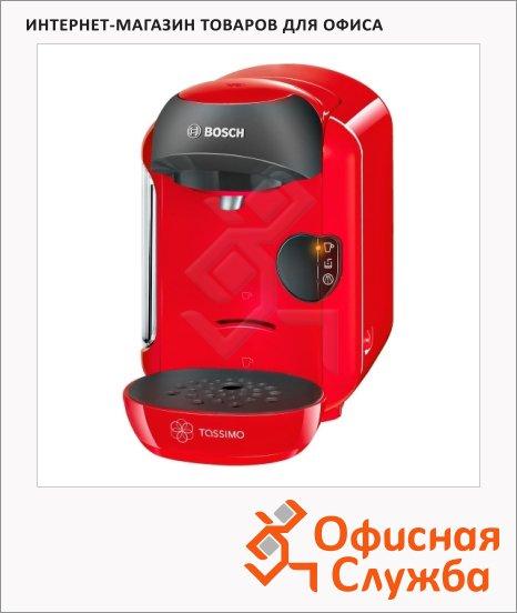 фото: Кофемашина капсульная Bosch Tassimo Vivy TAS 1253 1300 Вт, красная