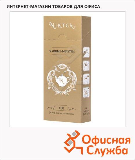 Фильтры для заваривания чая Niktea бумажные, 100шт