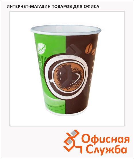 Стакан одноразовый Huhtamaki Кофе с собой 300мл, бумажный, 50шт/уп