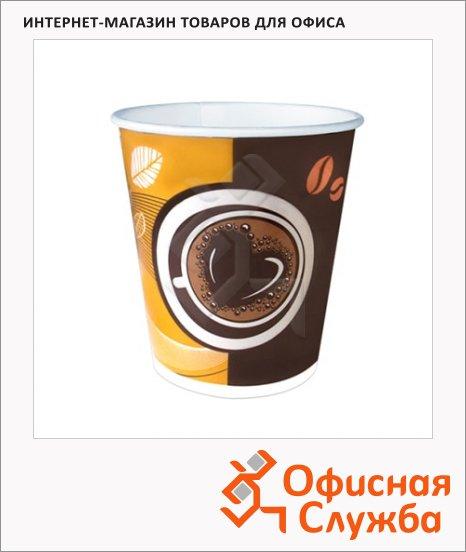 Стакан одноразовый Huhtamaki Кофе с собой 250мл, бумажный, 50шт/уп