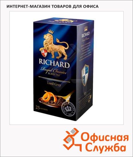 фото: Чай Richard Lord Grey черный, 25 пакетиков