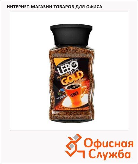 фото: Кофе растворимый Lebo Gold 100г стекло