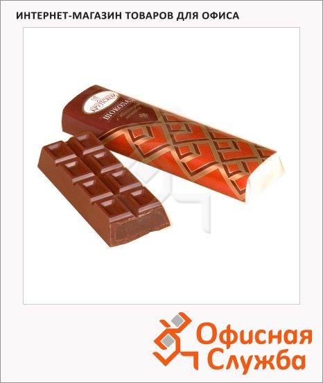фото: Батончик шоколадный Крупской с шоколадной начинкой 50г