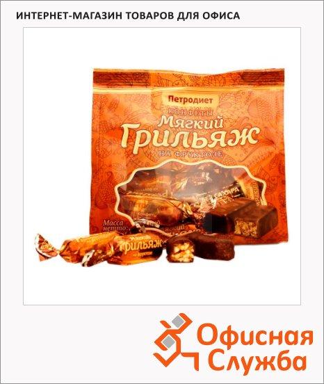 Конфеты Петродиет Грильяж на фруктозе, 200г