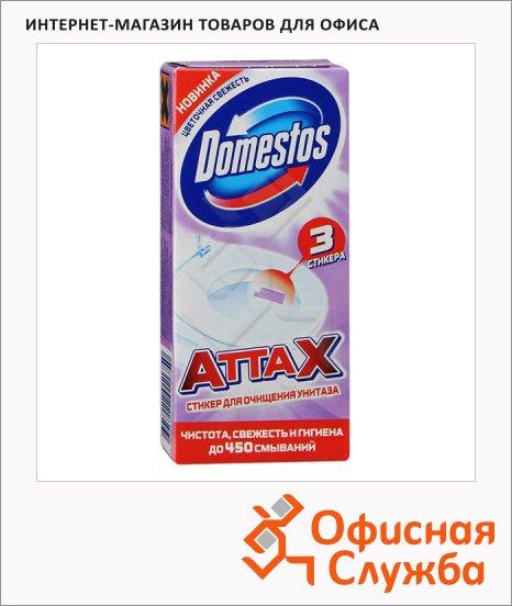 Стикер для унитаза Domestos Цветочная свежесть, 30г