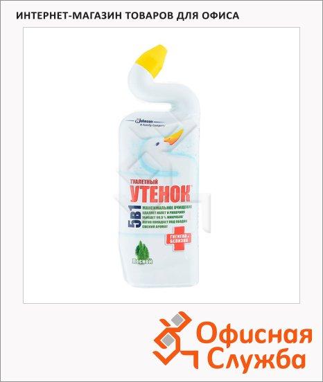 фото: Чистящее средство для сантехники Туалетный Утенок гигиена и белизна 750мл гель, лесной