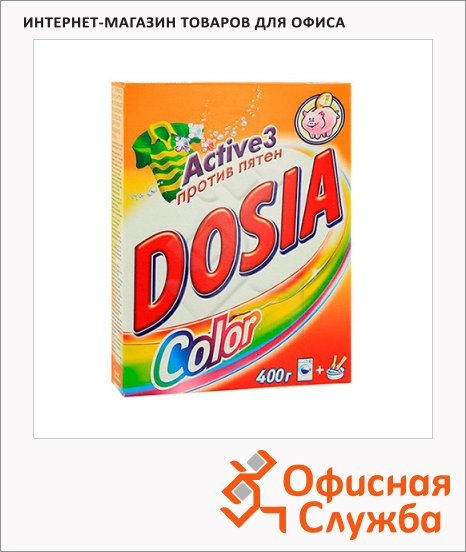 Стиральный порошок Dosia Color 400г, автомат