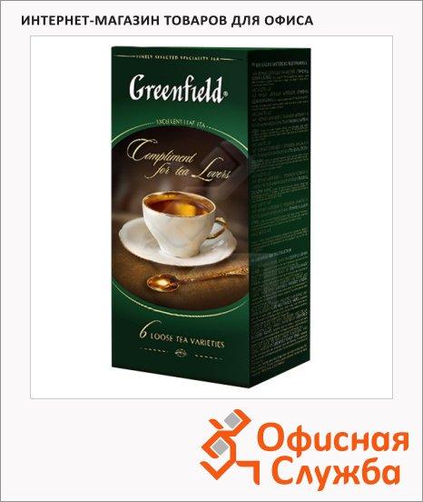 Набор чая Greenfield Коллекция Превосходного чая 6 сортов, листовой, 250г