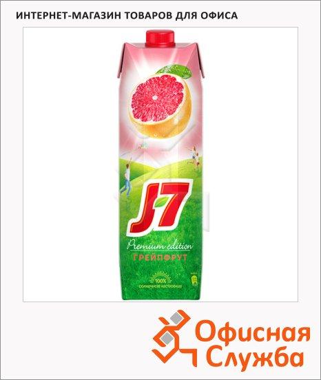Нектар J7 розовый грейпфрут, 0.97л