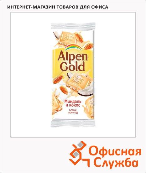 фото: Шоколад Alpen Gold белый миндаль и кокос 90г
