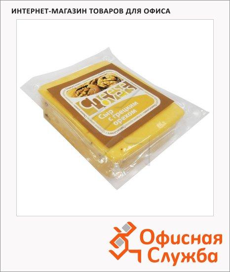 Сыр полутвердый Cheese Lovers с грецким орехом, 220г