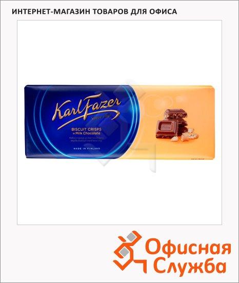 фото: Шоколад с крошкой печенья 200г, молочный
