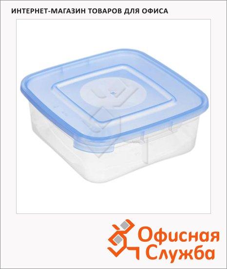 фото: Контейнер герметичный Полимербыт Каскад 0.7л пластик, для СВЧ, 3шт