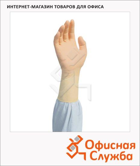 фото: Перчатки латексные Kimberly-Clark Kimtech Pure G5 HC4411 бежевые, L, 100 шт