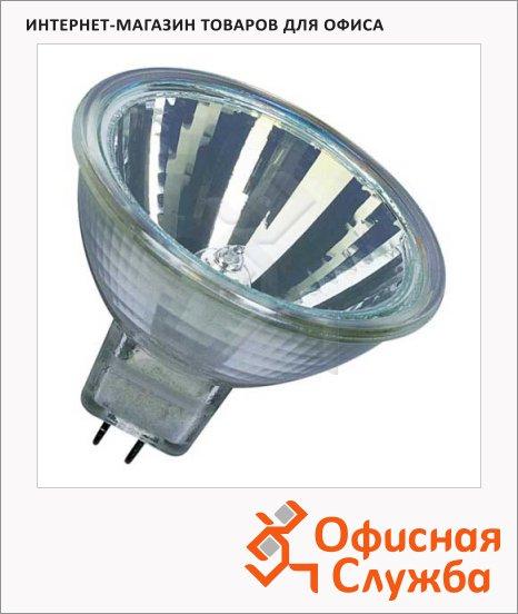 фото: Лампа галогенная Osram Decostar 20Вт GU5.3, 2800К, рефлектор с отражателем, 2шт/уп