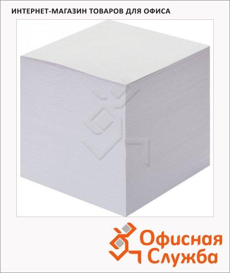 фото: Блок для записей непроклеенный Attache Эконом белый 90х90х90мм