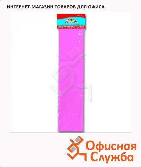 фото: Цветная калька Апплика Сделай сам розовая 50х70см