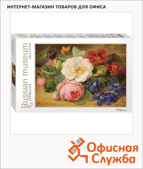 Букет цветов с улиткой пазл