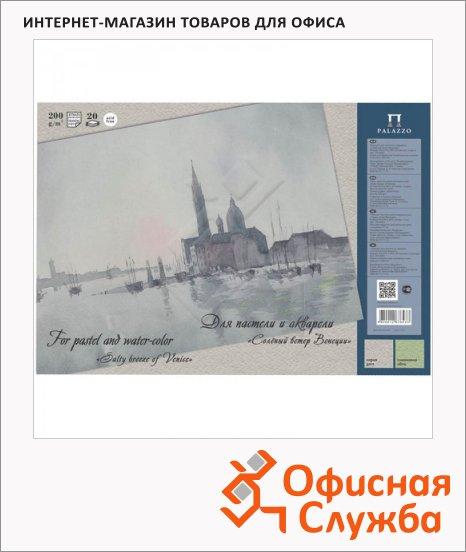 фото: Папка для акварели и пастели Palazzo Соленый ветер Венеции A3 200 г/м2, 20 листов, тонированная, 2 цвета
