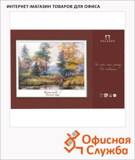 фото: Папка для акварели Palazzo Осенний пруд А2 200г/м2, 20 листов
