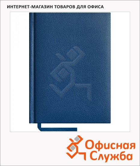 фото: Ежедневник недатированный Office Space Derby синий А6, 160 листов, балакрон