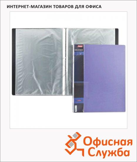 фото: Папка файловая Hatber Wood фиолетовая A4, на 40 файлов
