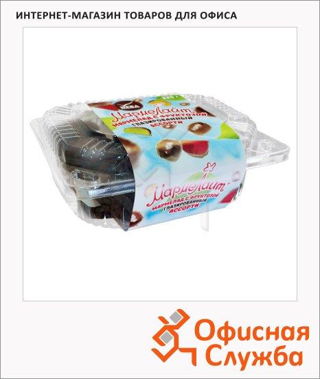 Мармелад Мармелайт глазированный с фруктозой, ассорти, 225г