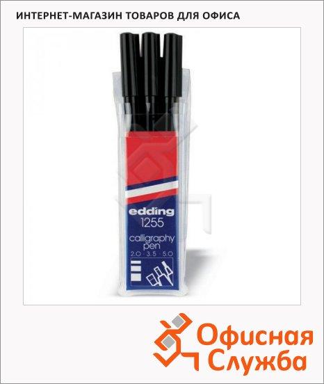 фото: Фломастеры E-1255 набор 3 штуки черные