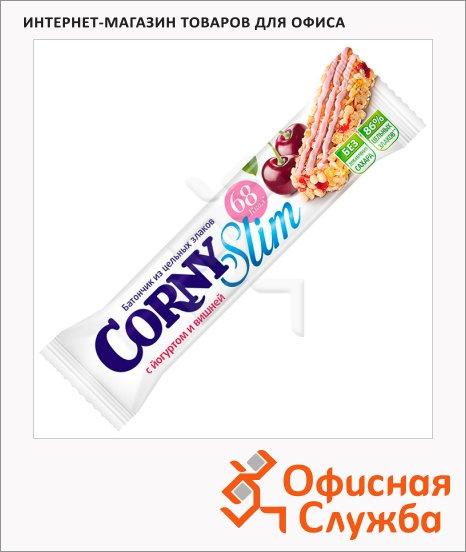 фото: Батончик мюсли Corny Slim с йогуртом и вишней 20г