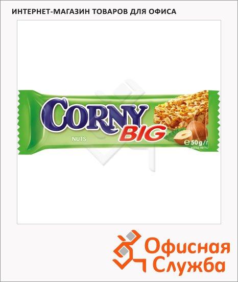 фото: Батончик мюсли Corny Big c лесными орехами 50г