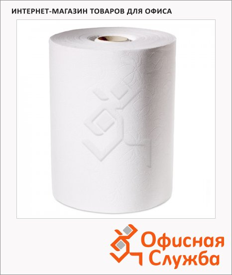 фото: Бумажные полотенца Advanced 471110 в рулоне, белые, 2 слоя, 143м х 24.5см