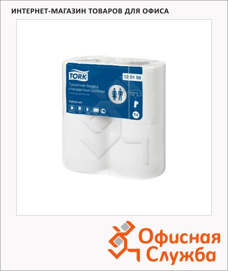 фото: Туалетная бумага Advanced без аромата в рулоне