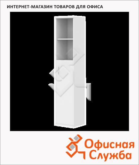 фото: Шкаф-колонка Skyland Imago СУ-1.6 правый, 403х365х1975мм, белый