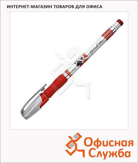 фото: Ручка гелевая Erich Krause Robogel красная 0.5мм