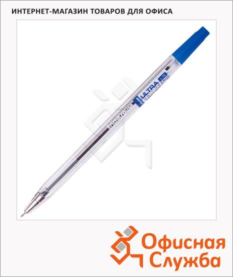 фото: Ручка шариковая Ultra L-10 синяя 0.7мм, 0.7мм