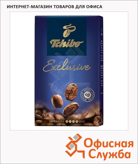 Кофе в зернах Tchibo Exclusive 250г, пачка
