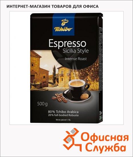 фото: Кофе в зернах Tchibo Espresso Sicilia Style 500г пачка