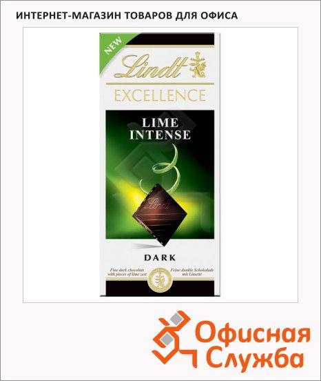 фото: Шоколад Lindt Lindor темный с лаймом, 100г