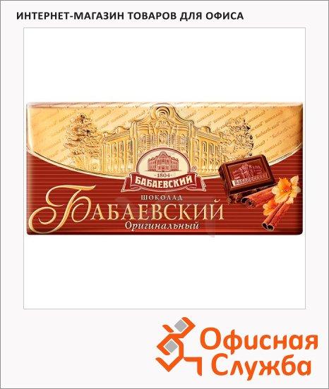 фото: Шоколад Бабаевский темный Оригинальный 100г