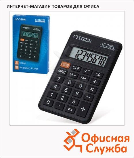 фото: Калькулятор карманный LC-310N черный 8 разрядов