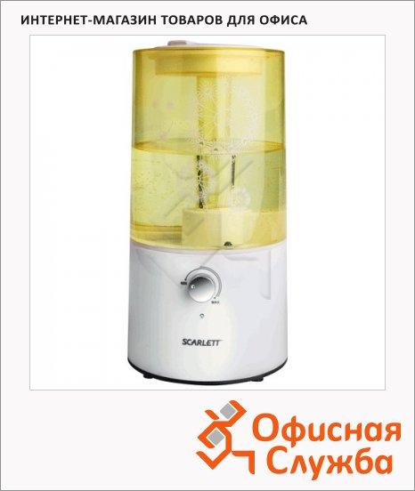 фото: Увлажнитель воздуха Scarlett SC-AH986M01 2.5л желтый с белым, 25Вт