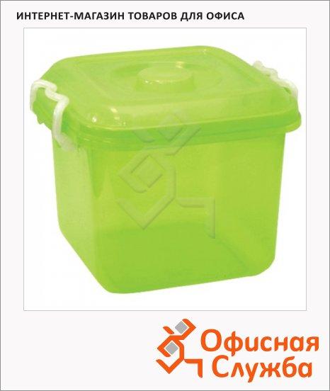 фото: Контейнер герметичный Idea Океаник 10л пластик, крышка с клапаном