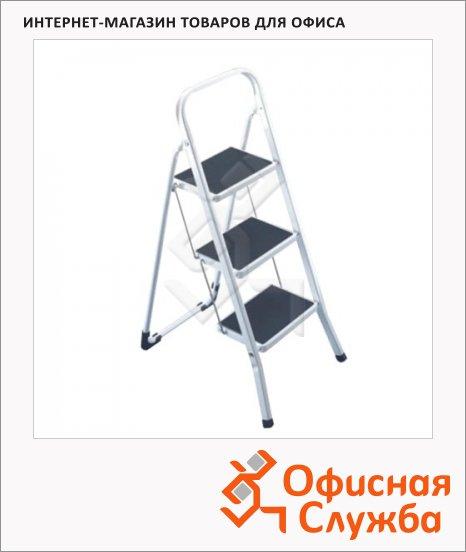 фото: Лестница-стремянка Arno 3 ступени h=69см, до 150кг, стальная