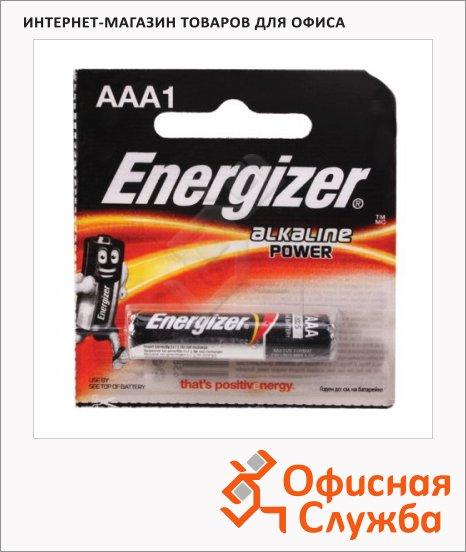 фото: Батарейка Energizer Power ААА/LR03 1.5В, алкалиновая, 1шт